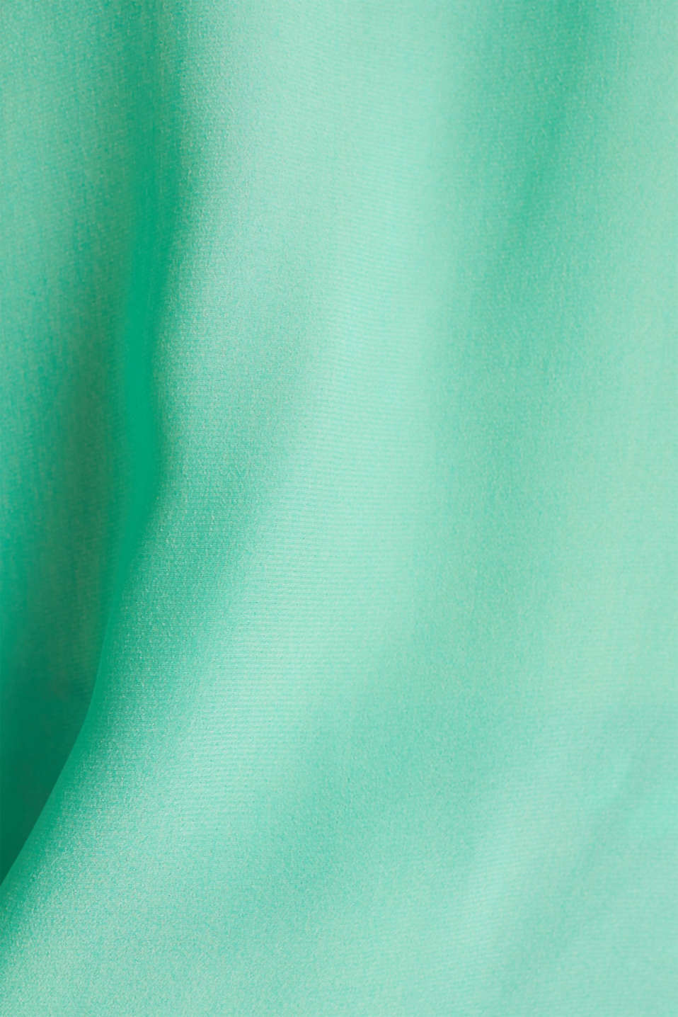 Blouse top with silk, LIGHT GREEN, detail image number 4