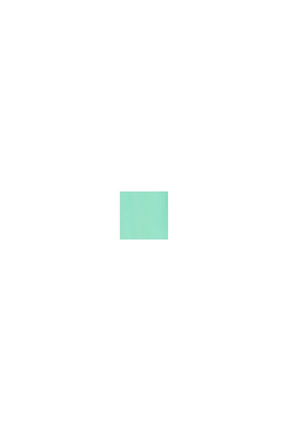 Aus Seiden-Mix: Blusentop mit Seide, LIGHT GREEN, swatch