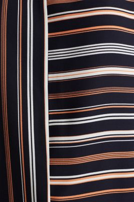 Striped blouse, recycled, NAVY 2, detail