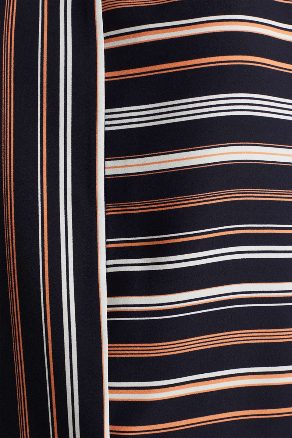 Striped blouse, recycled, NAVY 2, detail image number 4
