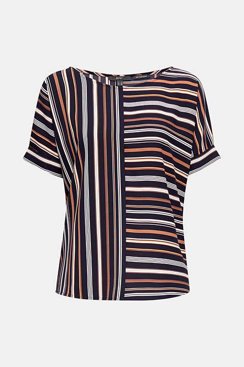 Striped blouse, recycled