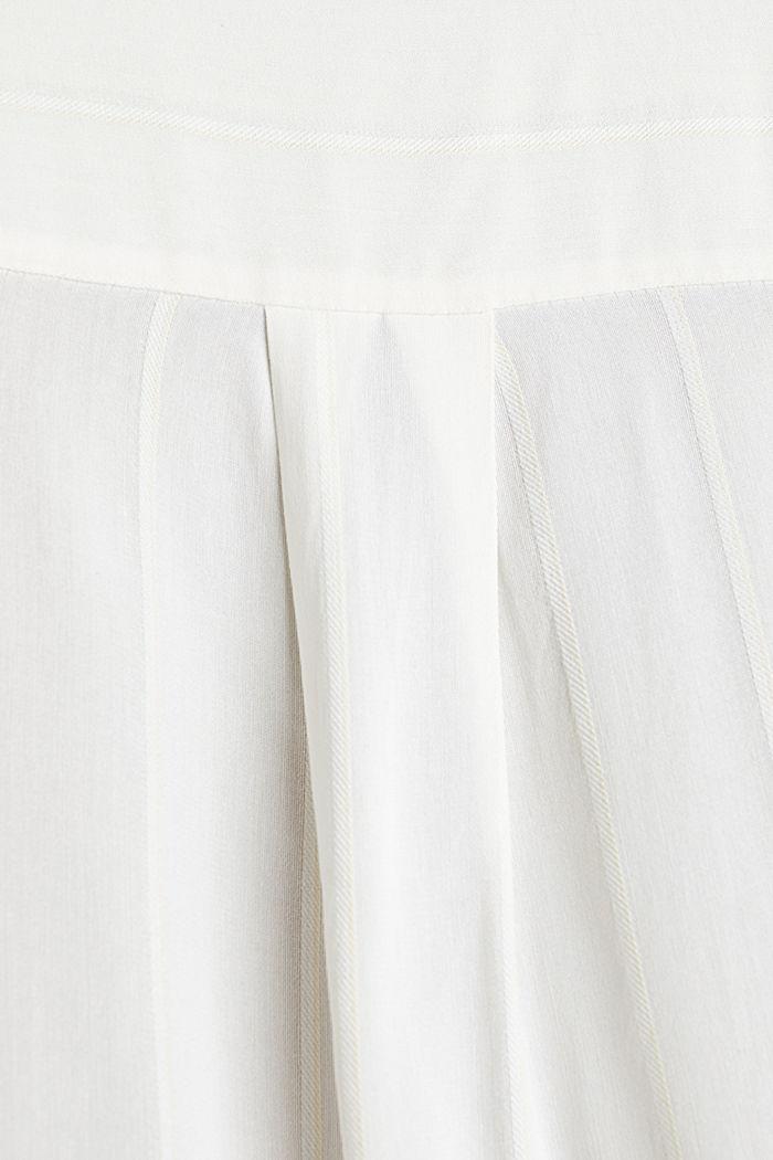 Hemdbluse mit Struktur-Streifen, OFF WHITE, detail image number 3