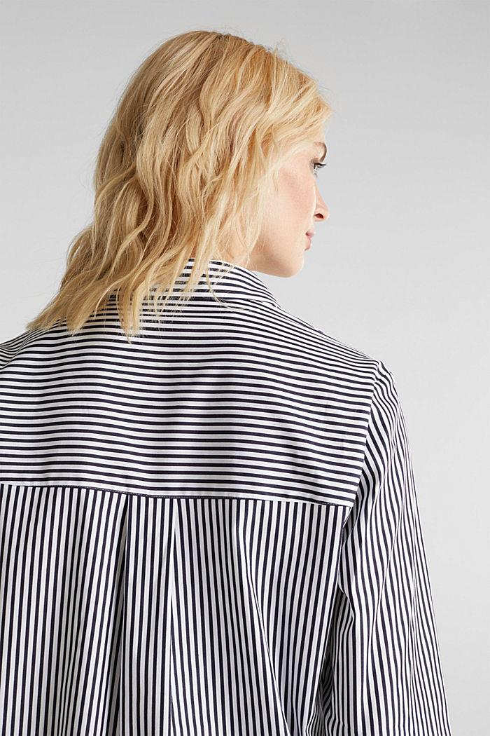 Gestreepte blouse zonder sluiting met stretch, OFF WHITE, detail image number 2