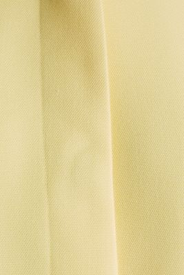 Coat with piqué texture, LIME YELLOW, detail