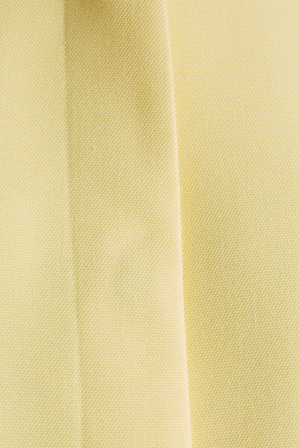Coat with piqué texture, LIME YELLOW, detail image number 4