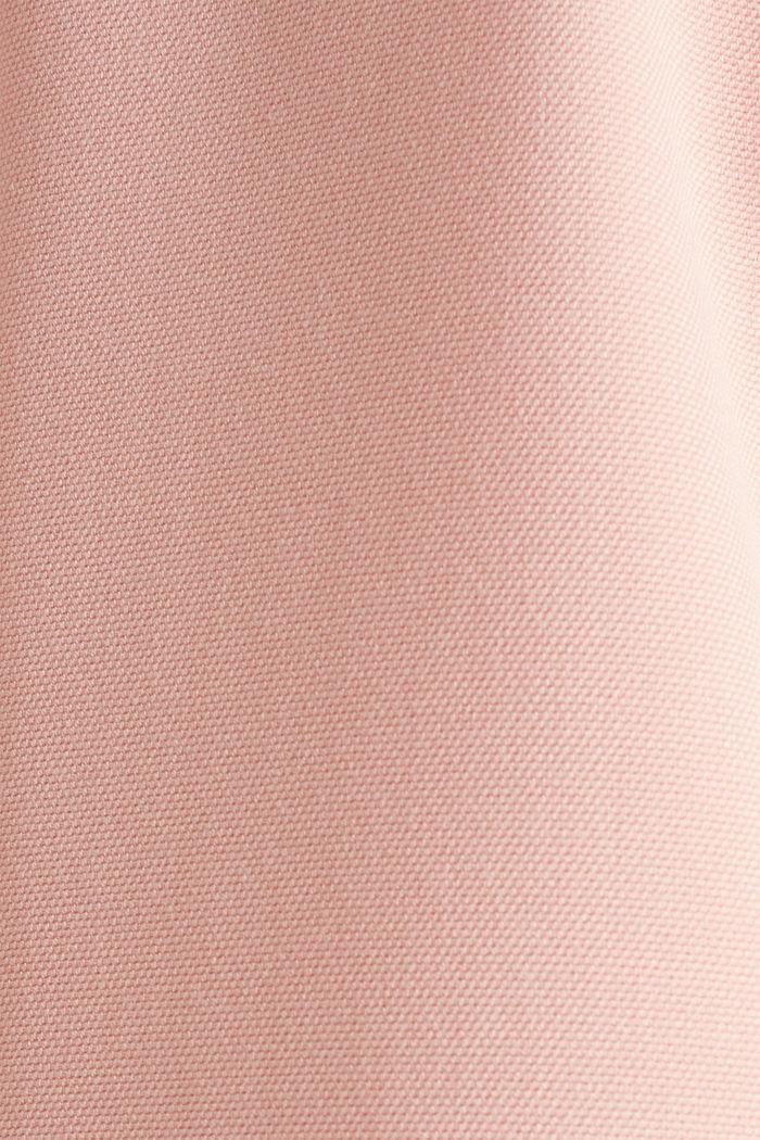 Mantel mit Piqué-Struktur, SALMON, detail image number 4