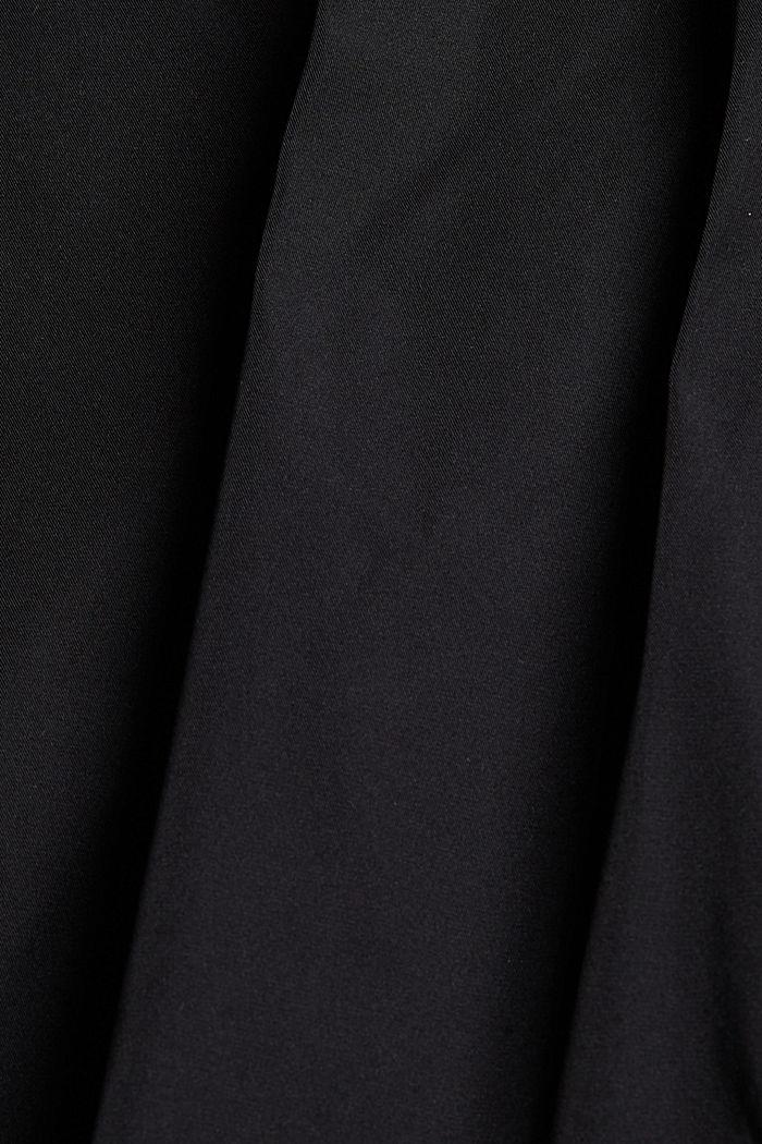 Parka ligera con brillo delicado, BLACK, detail image number 4