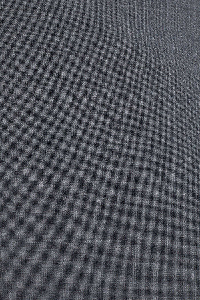 With wool: ACTIVE mix + match stretch blazer, GREY, detail image number 4