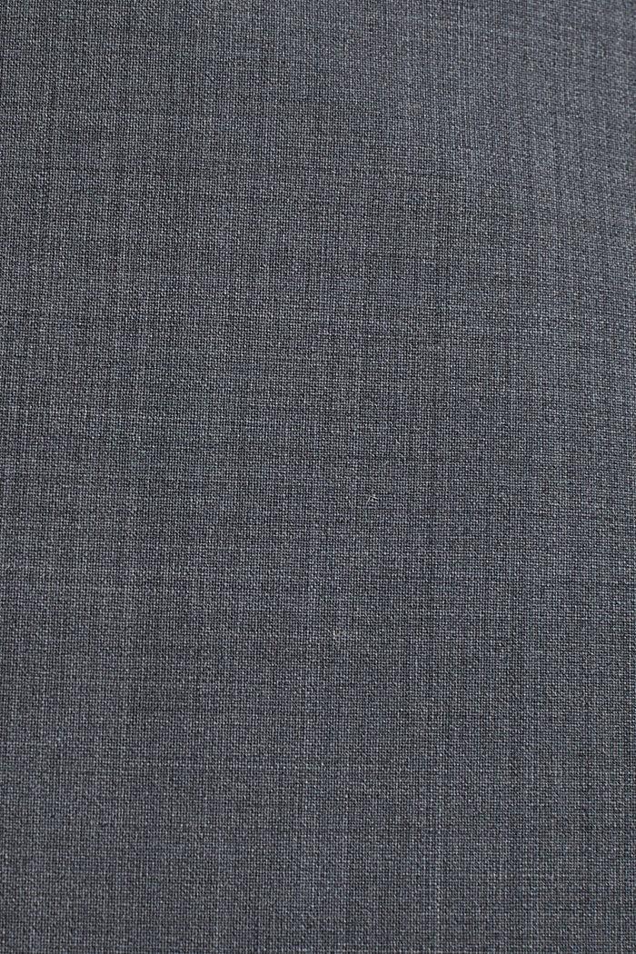 Mit Wolle: ACTIVE Mix + Match Stretch-Blazer, GREY, detail image number 4