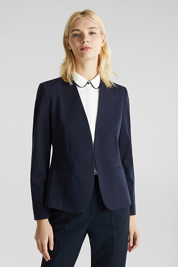 MODERN Mix + Match Blazer, NAVY, detail image number 0