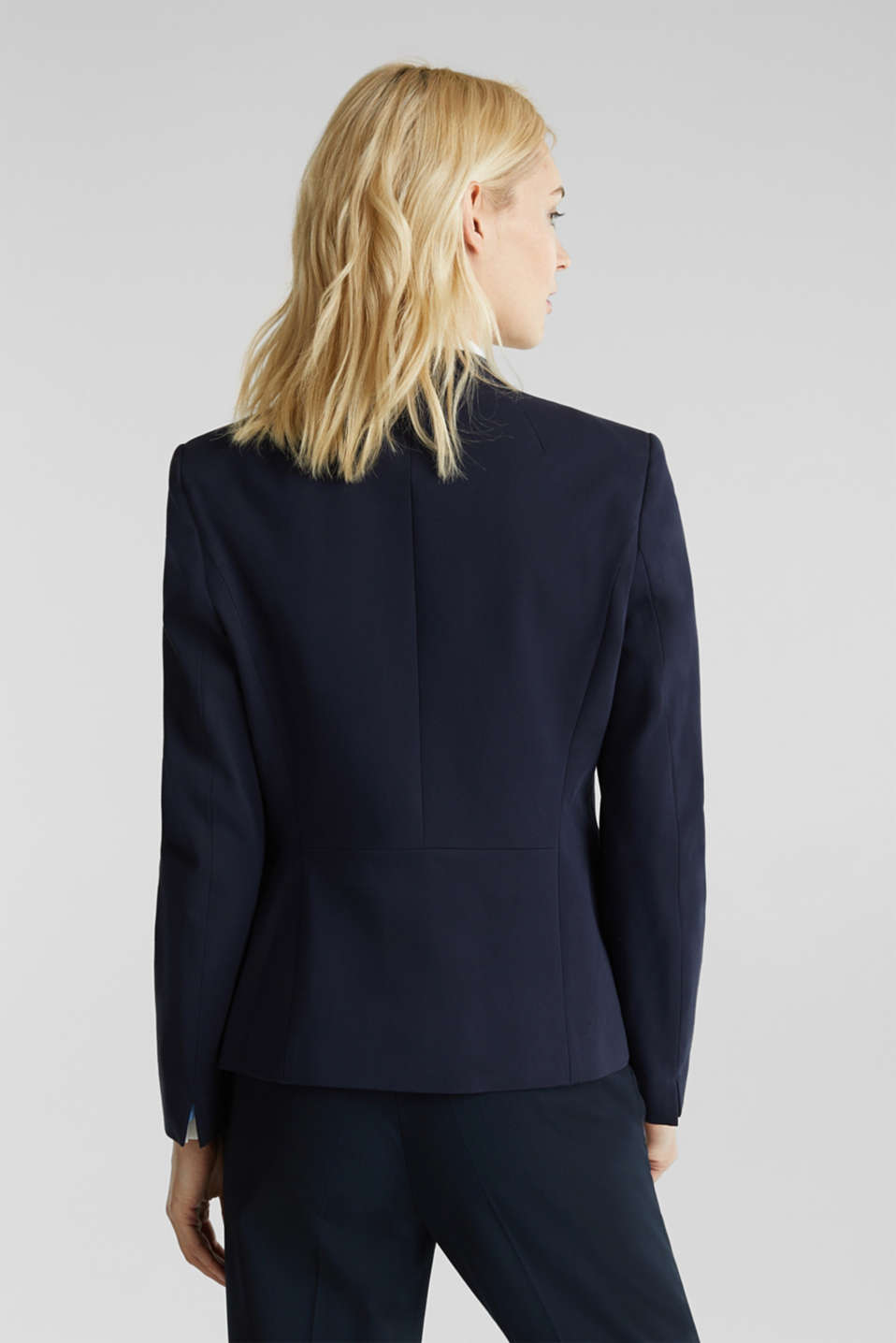 MODERN mix + match blazer, NAVY, detail image number 3