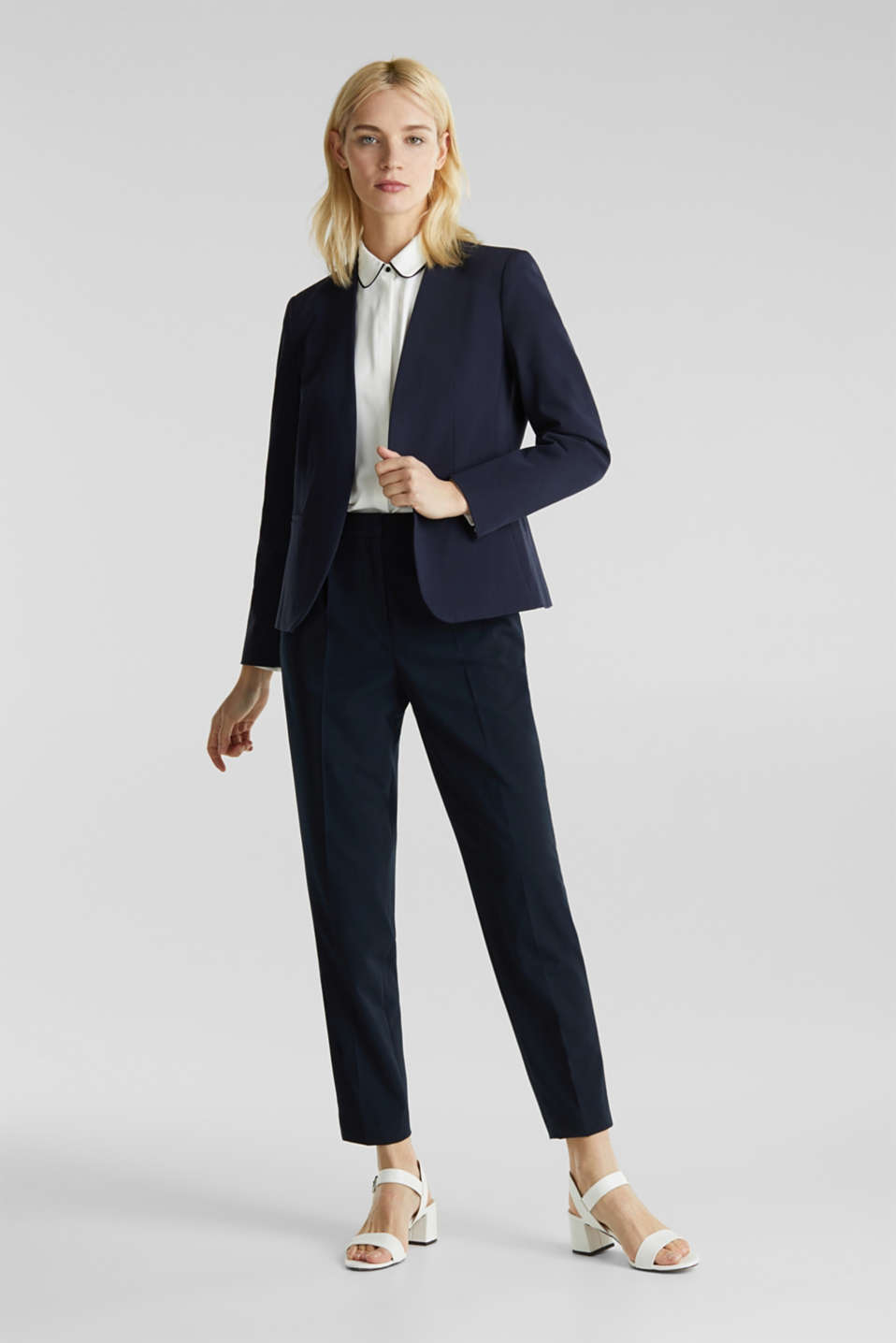 MODERN mix + match blazer, NAVY, detail image number 1