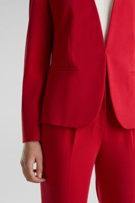 MODERN mix + match blazer, RED, detail
