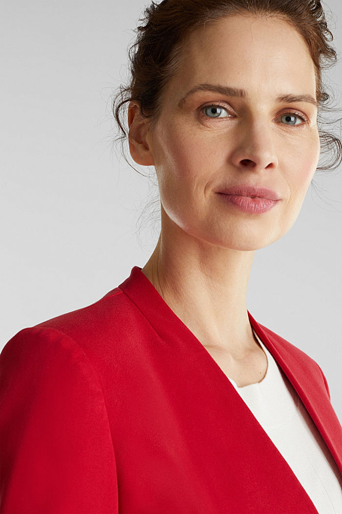 MODERN Mix + Match Blazer, RED, detail image number 1