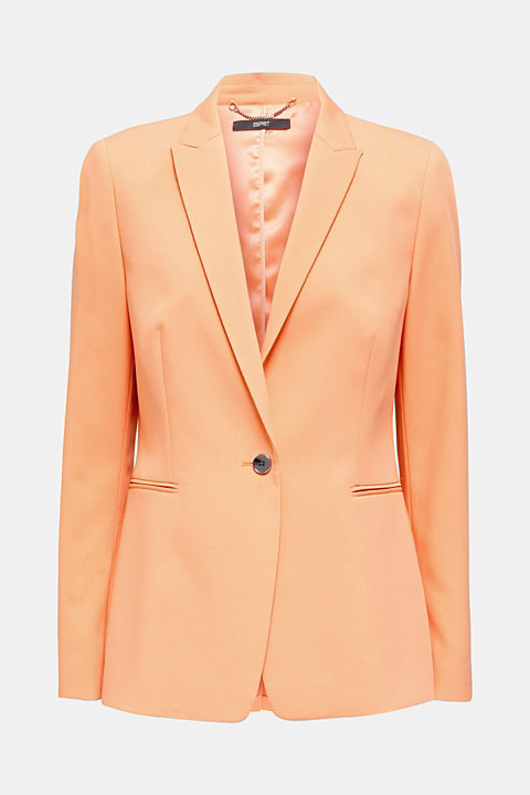 SPRING TWILL Mix + Match stretch blazer
