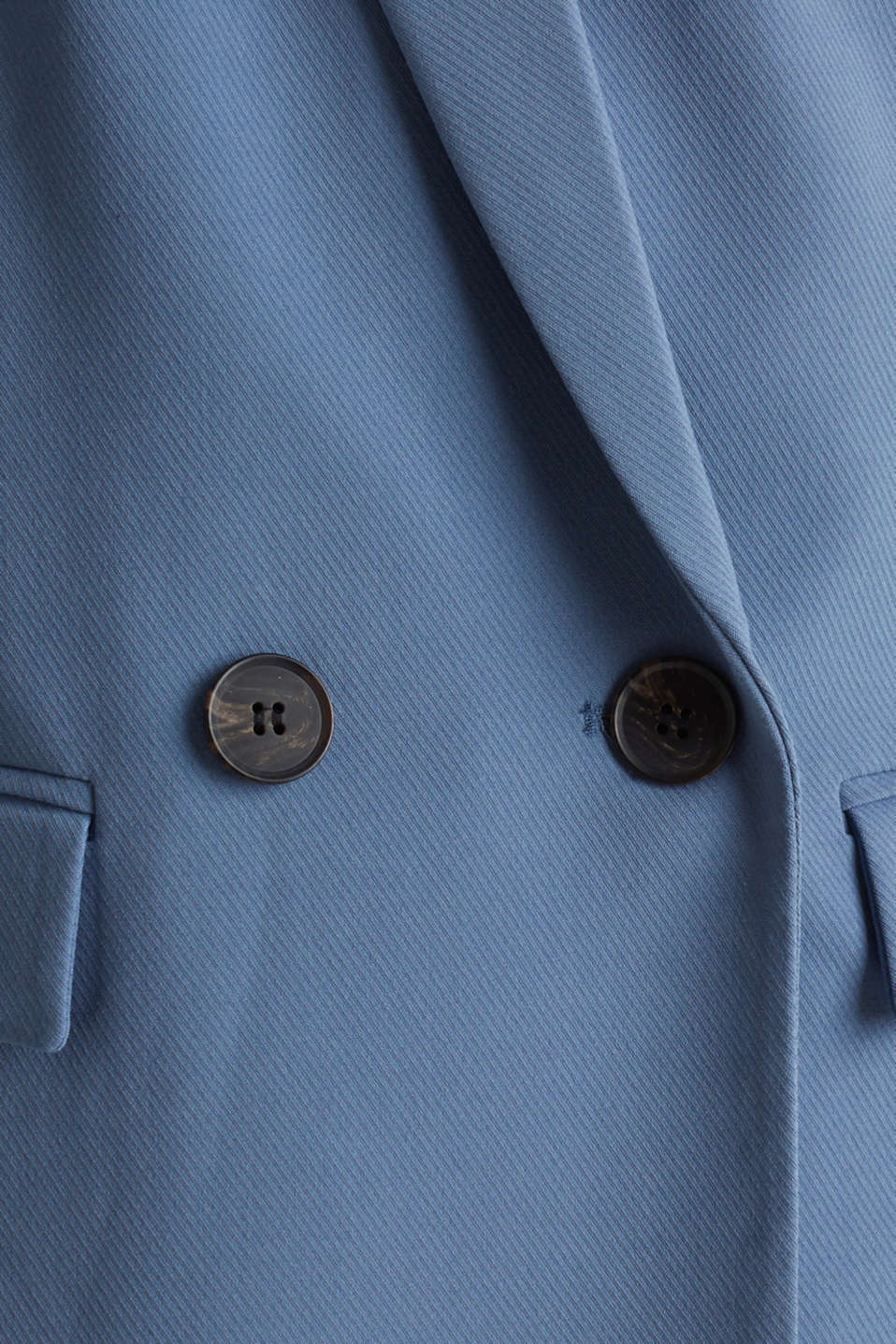 COLORED TWILL Mix + Match stretch blazer, GREY BLUE, detail image number 4