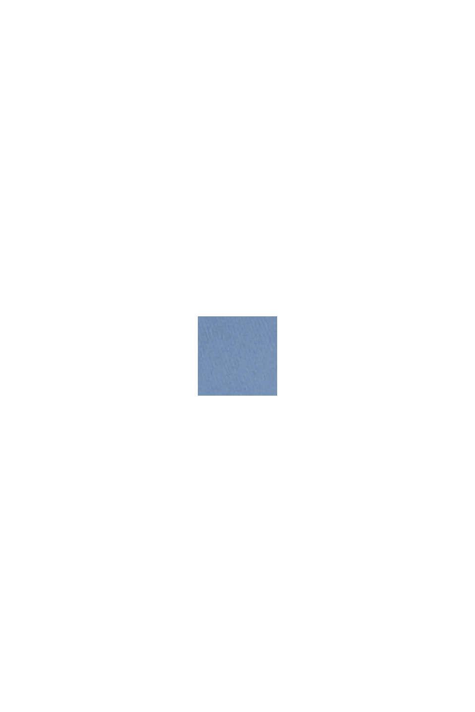COLORED TWILL Mix + Match stretch blazer, GREY BLUE, swatch