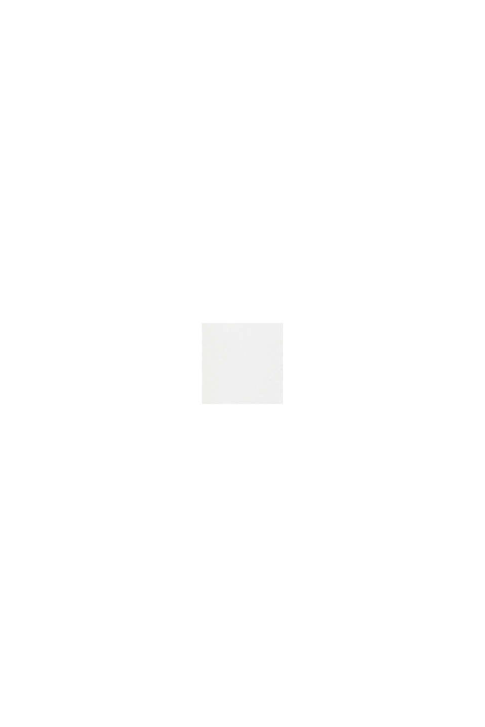 Fine-knit bolero with a scalloped edge, OFF WHITE, swatch