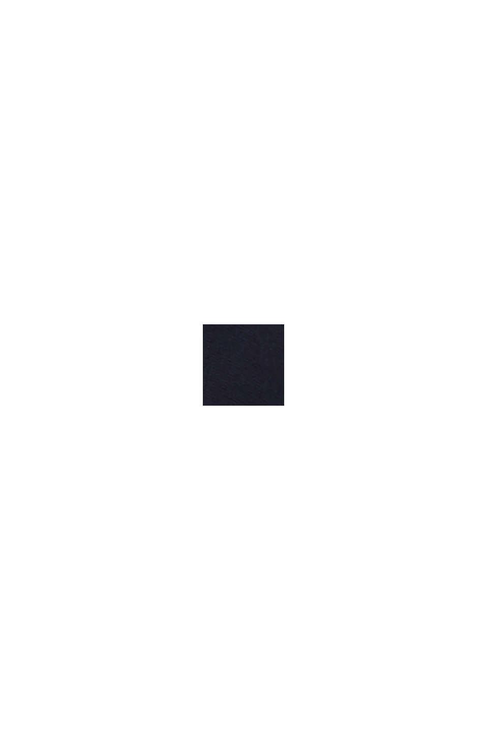 Feinstrick-Bolero mit Bogenkante, NAVY, swatch