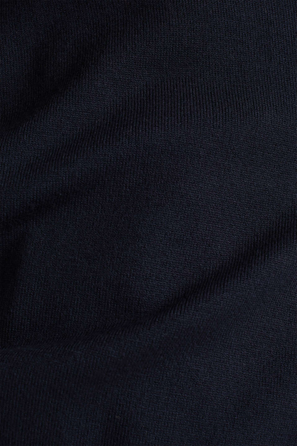 Stretch jumper with LENZING™ ECOVERO, NAVY, detail image number 4