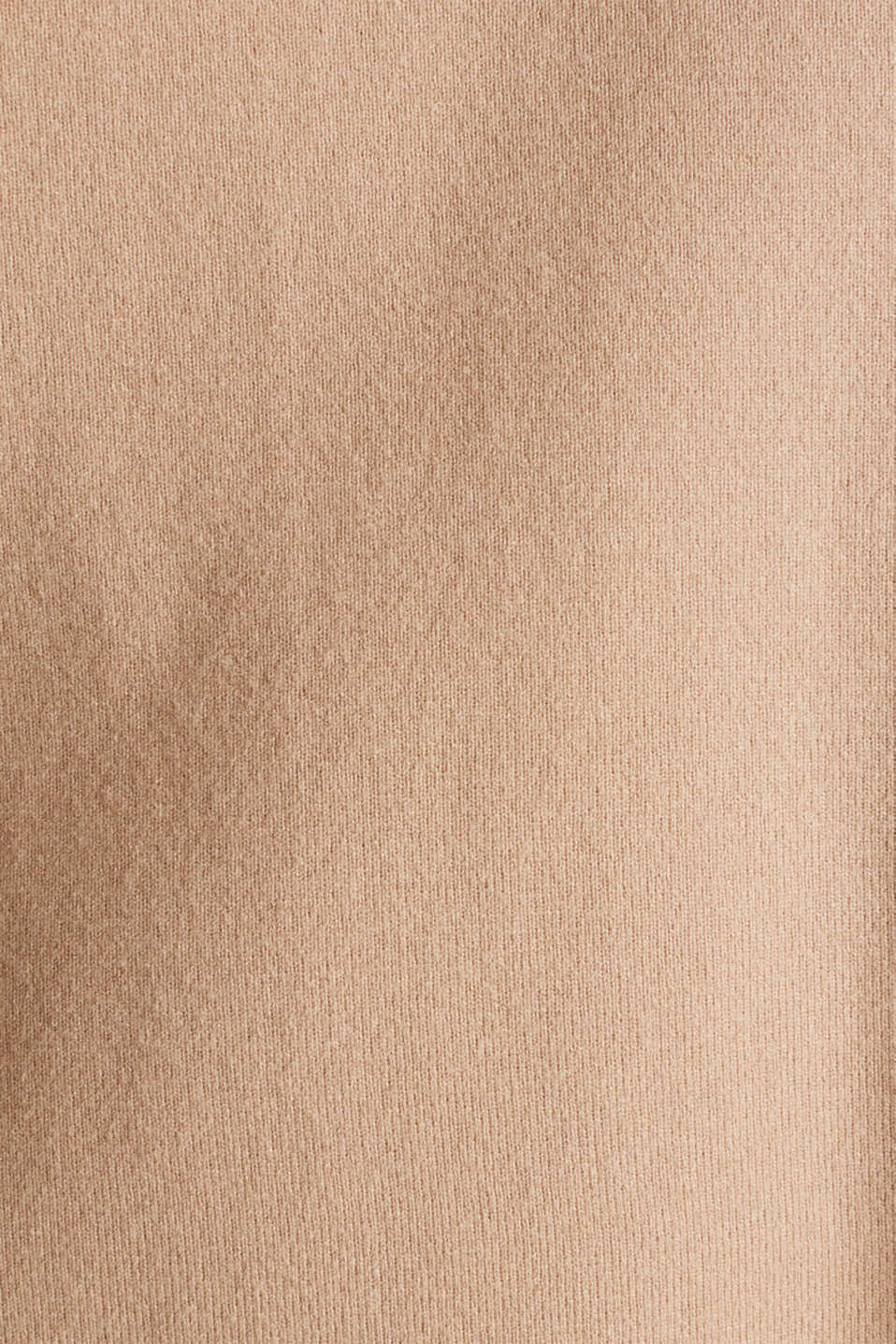 Stretch jumper with a stand-up waistband, LIGHT BEIGE, detail image number 4