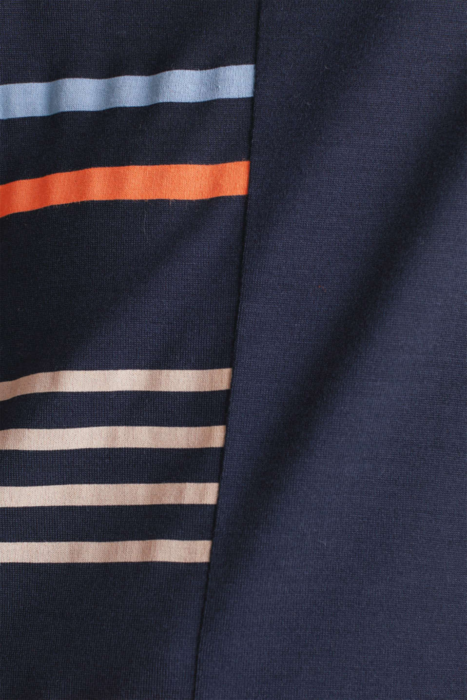 Top with colour block stripes, NAVY, detail image number 4