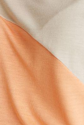 Colour block T-shirt in a new colour mix, LIGHT BEIGE, detail