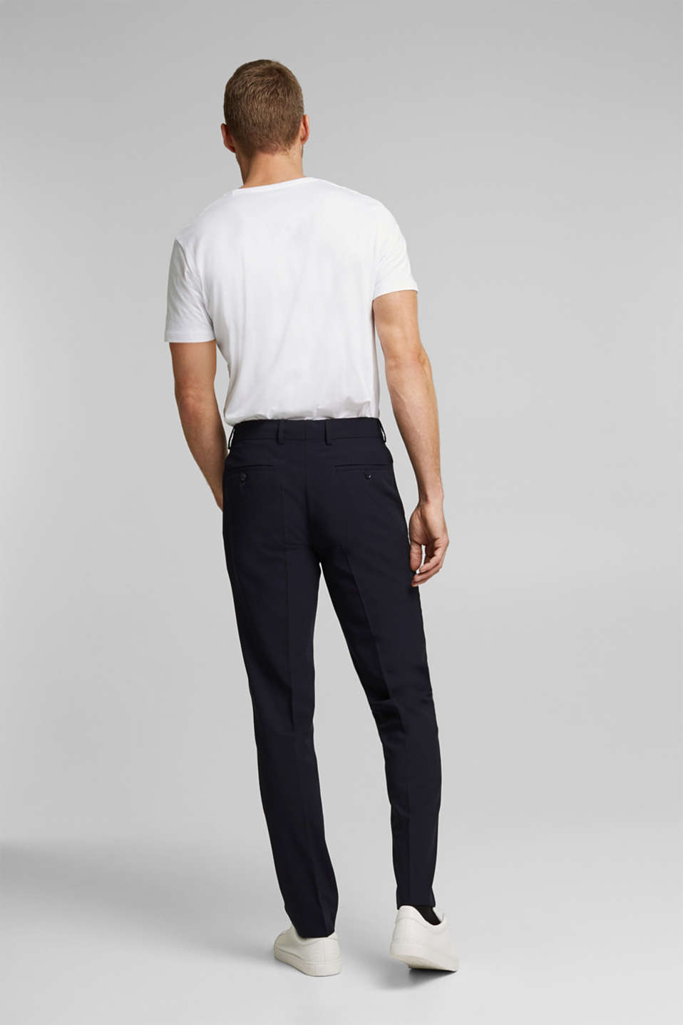 ACTIVE GRID mix + match: Trousers, DARK BLUE, detail image number 1