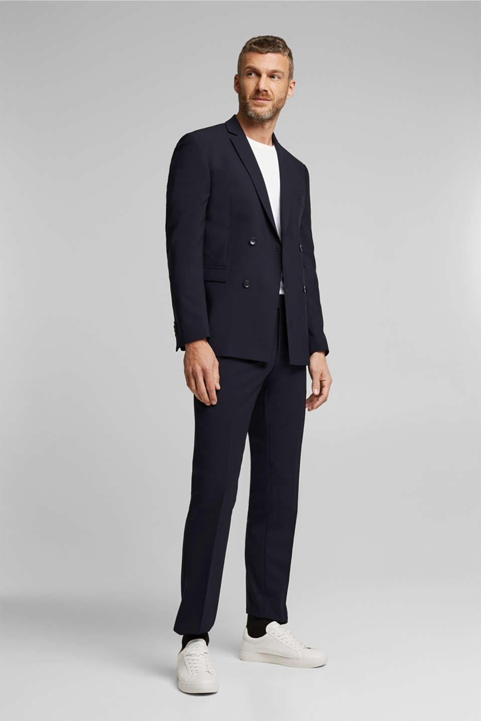 ACTIVE GRID mix + match: Trousers, DARK BLUE, detail image number 2