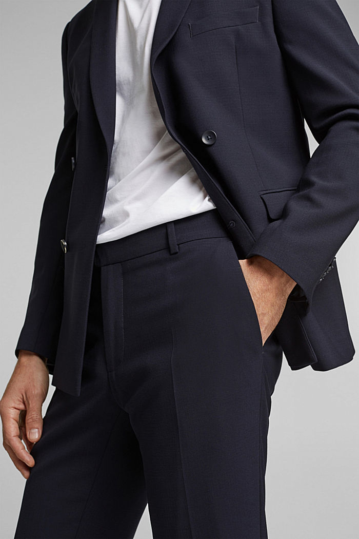 ACTIVE GRID mix + match: Trousers, DARK BLUE, detail image number 3