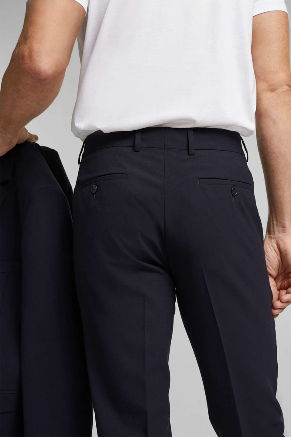 ACTIVE GRID mix + match: Trousers, DARK BLUE, detail image number 6
