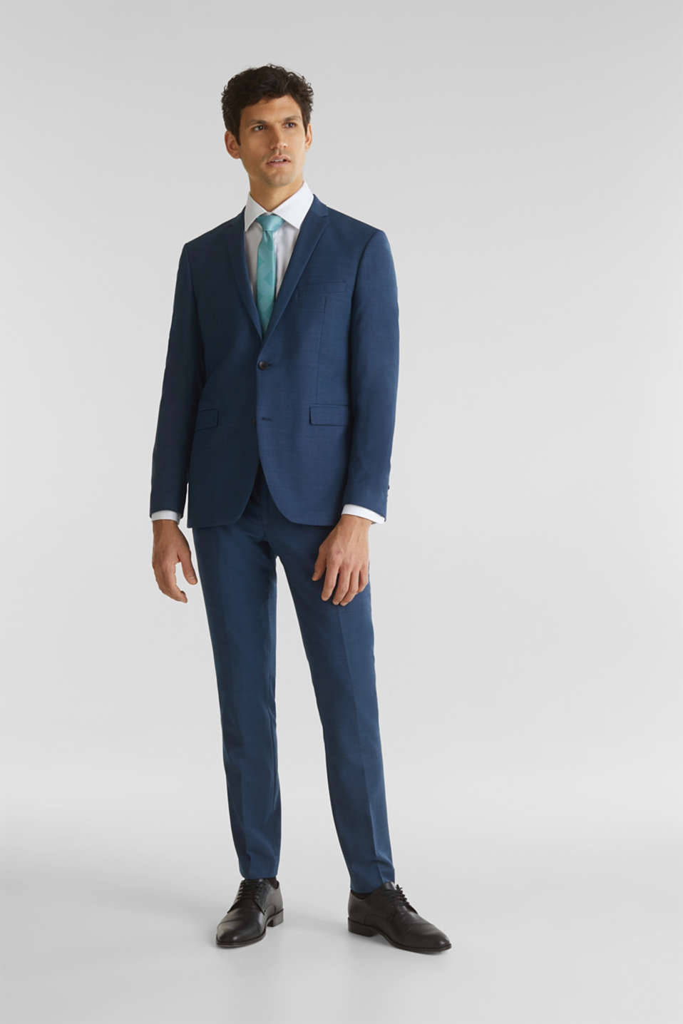 BLUE WOOL mix + match: Trousers, BLUE 5, detail image number 2
