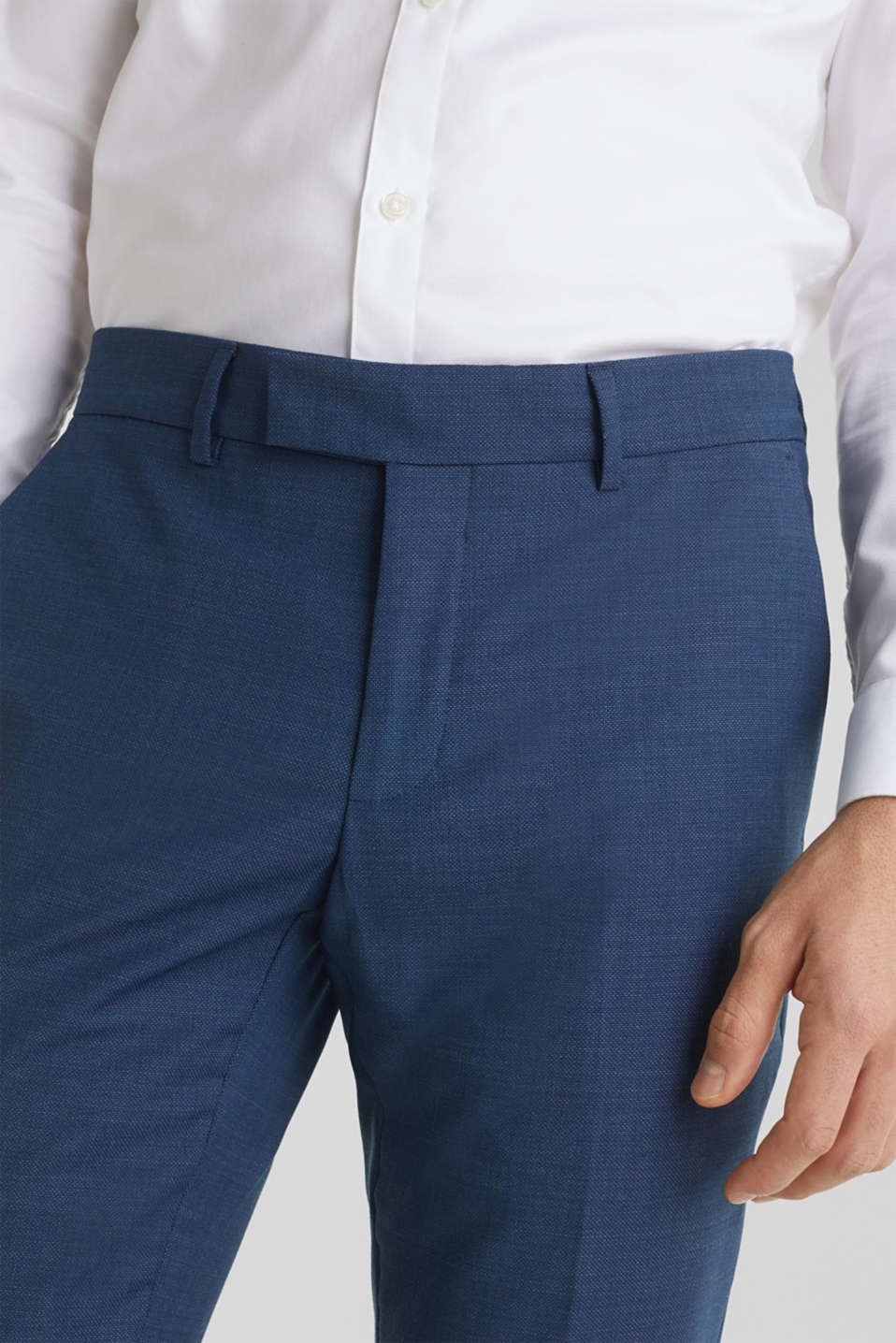 BLUE WOOL mix + match: Trousers, BLUE 5, detail image number 3