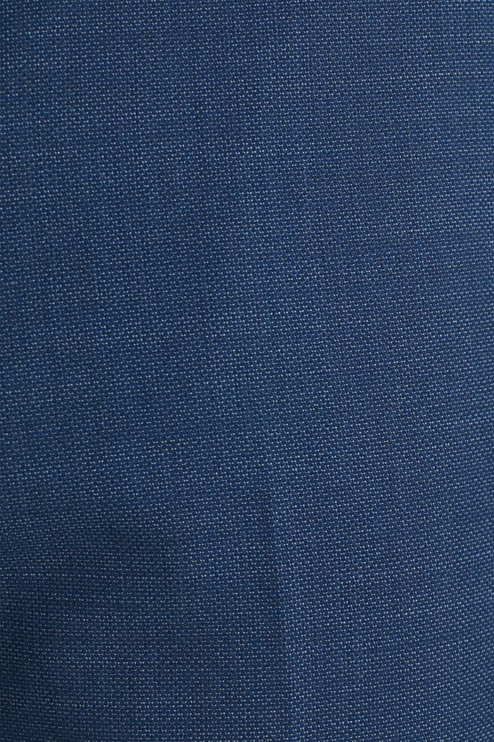 BLUE WOOL mix + match: Trousers, BLUE, detail image number 4