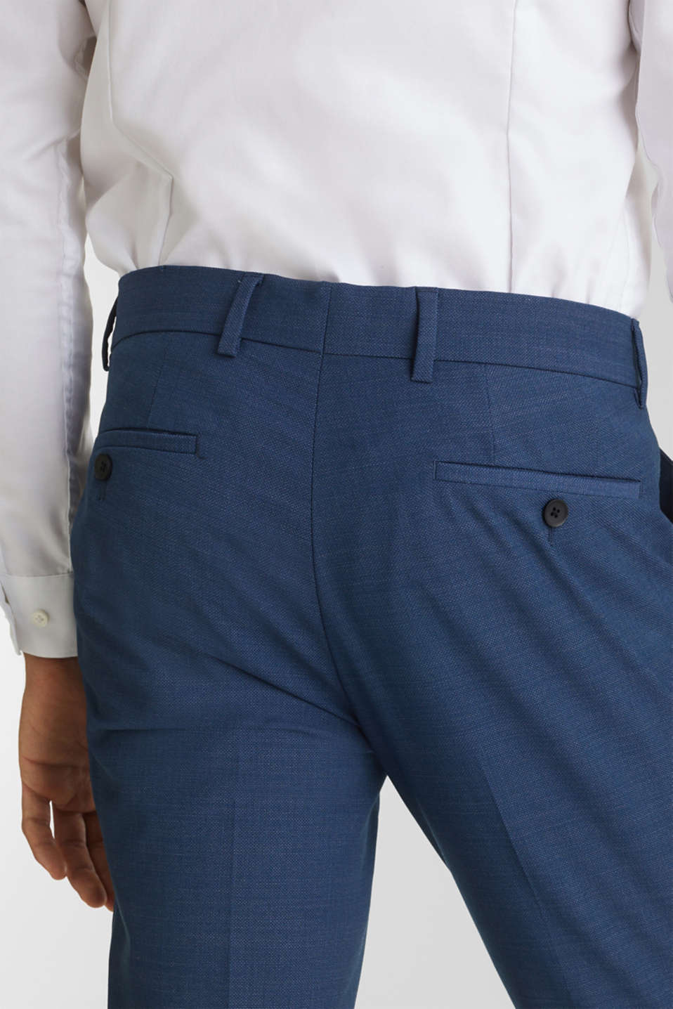 BLUE WOOL mix + match: Trousers, BLUE 5, detail image number 5