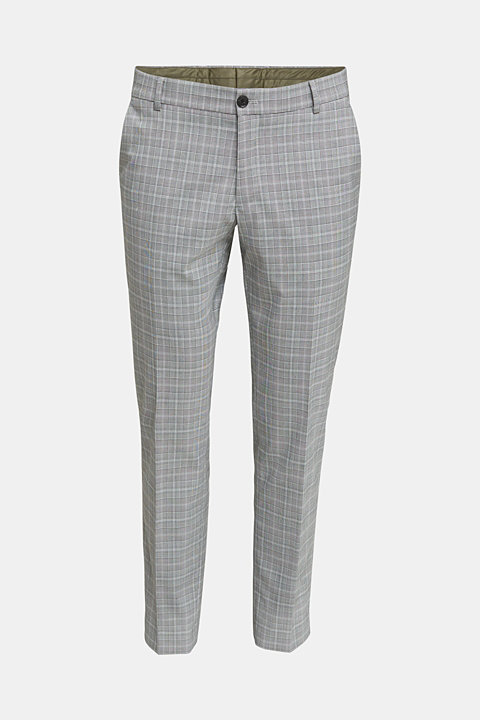 3-PIECE mix + match: Prince of Wales check trousers