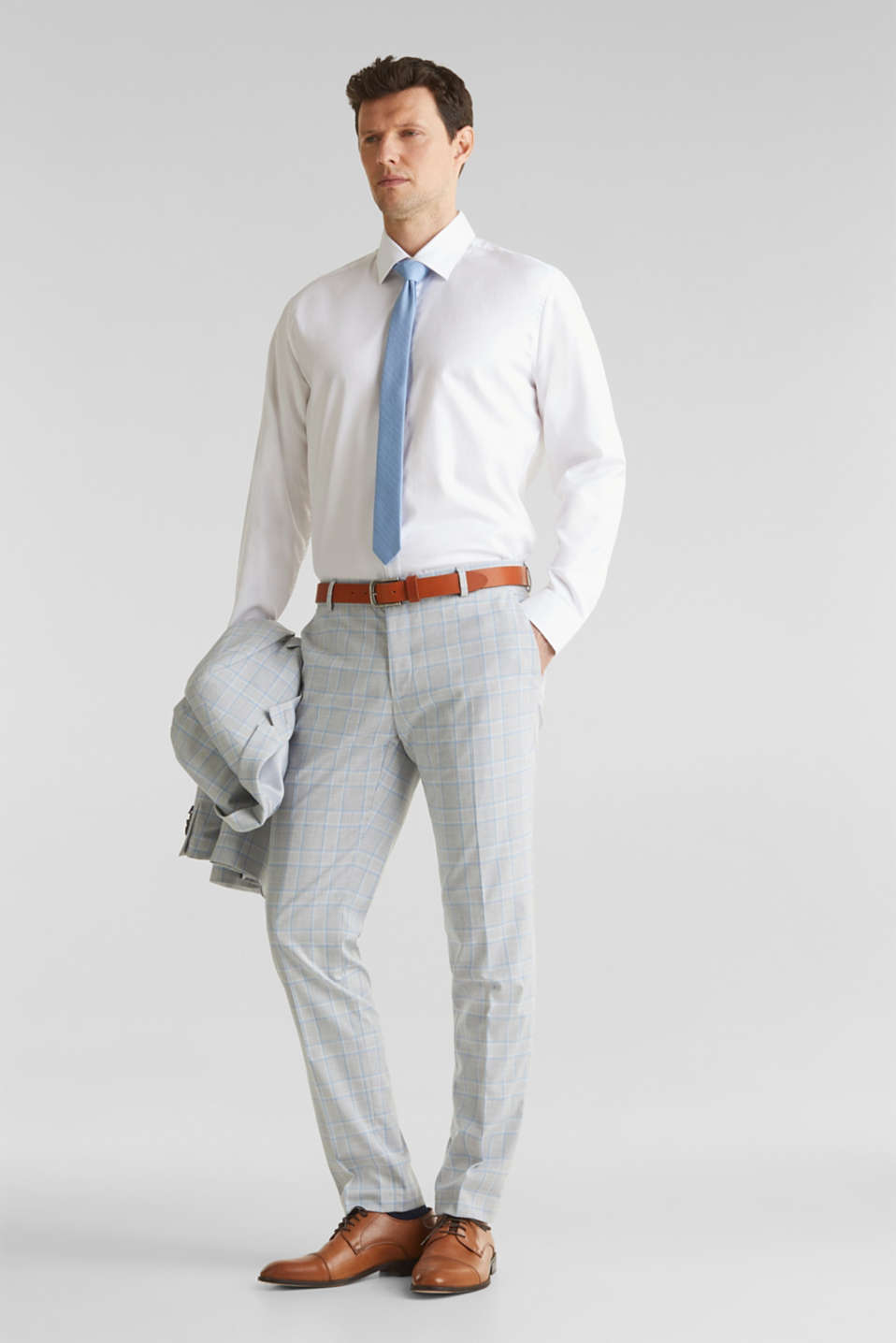 SUMMER CHECK mix + match: Trousers, LIGHT BLUE 3, detail image number 2