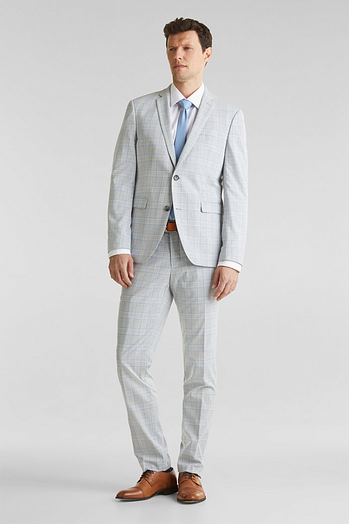 SUMMER CHECK mix + match: Trousers, LIGHT BLUE, detail image number 7