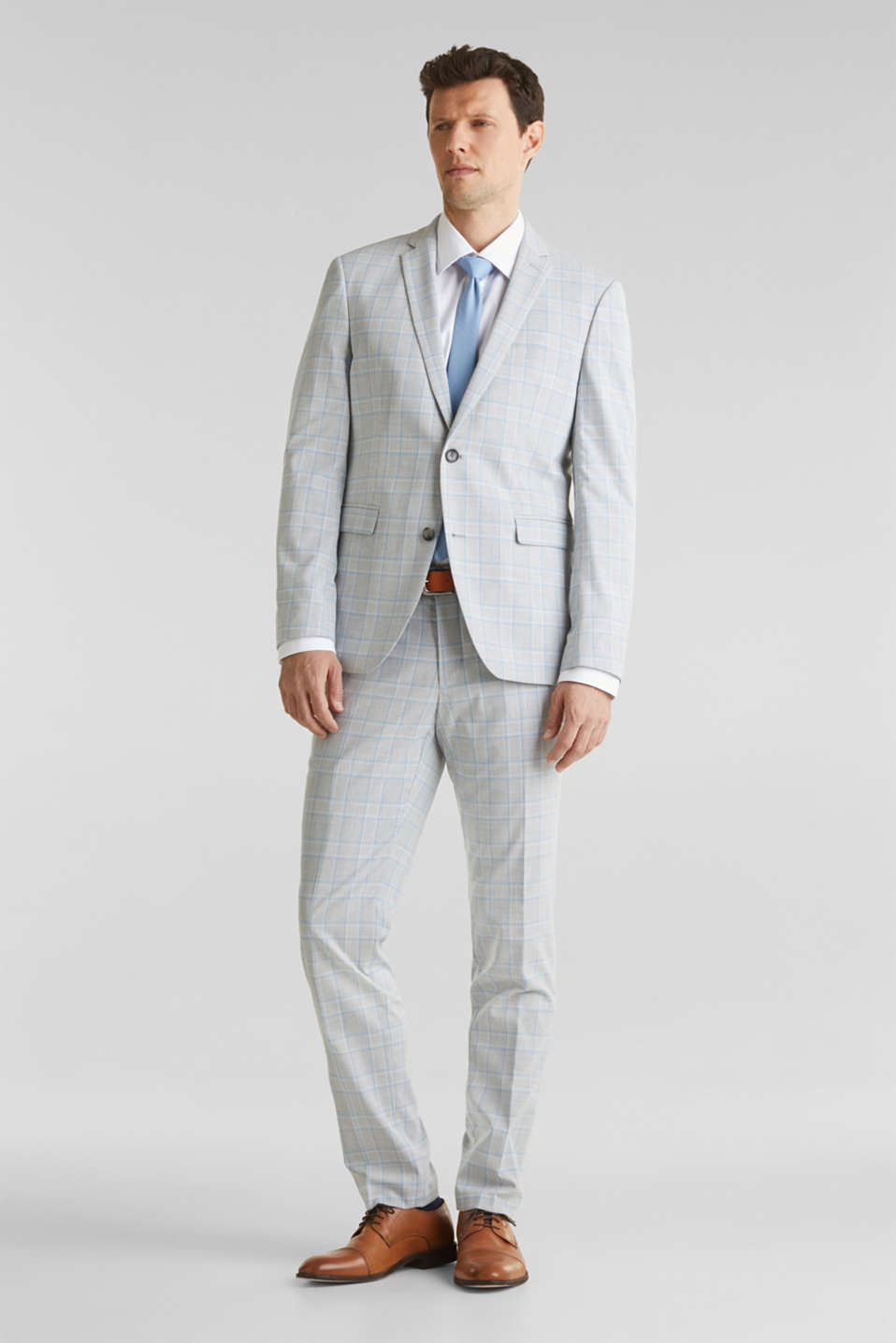 SUMMER CHECK mix + match: Trousers, LIGHT BLUE 3, detail image number 7