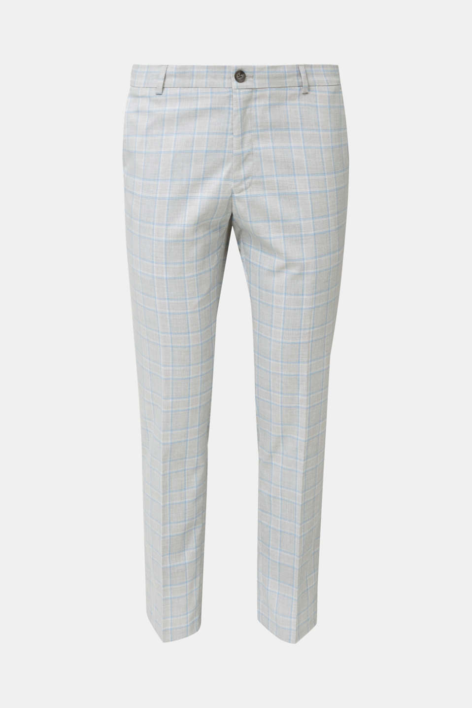 SUMMER CHECK mix + match: Trousers, LIGHT BLUE 3, detail image number 6