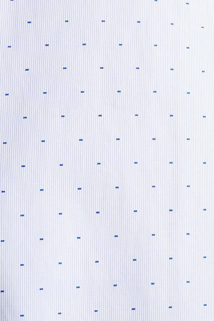 Overhemd met jacquardmotief, 100% katoen, LIGHT BLUE, detail image number 1