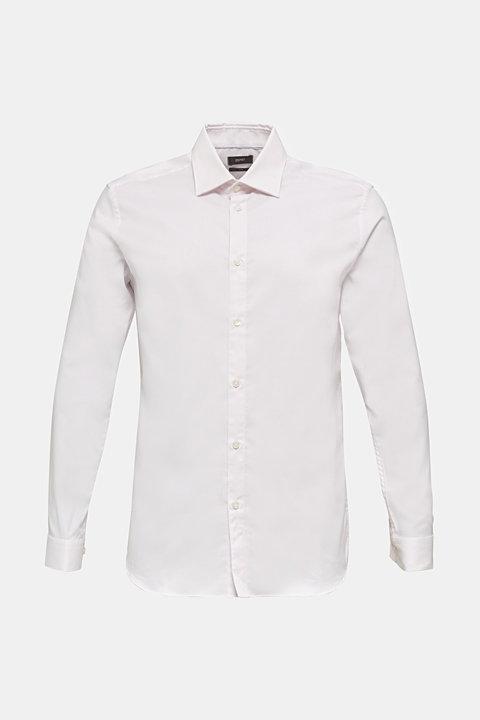 Textured shirt made of 100% cotton