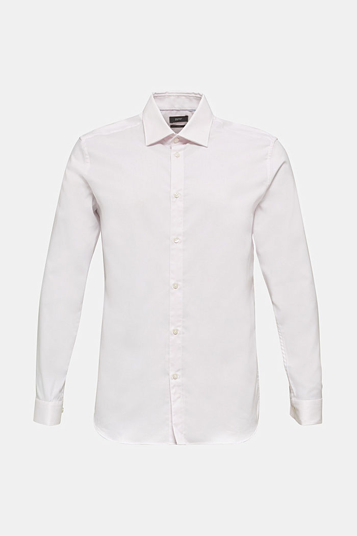 Textured shirt made of 100% cotton, LIGHT PINK, detail image number 8