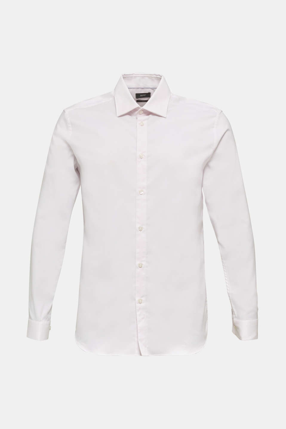 Textured shirt made of 100% cotton, LIGHT PINK 5, detail image number 8