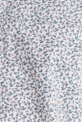 Floral shirt made of 100% cotton, WHITE 5, detail