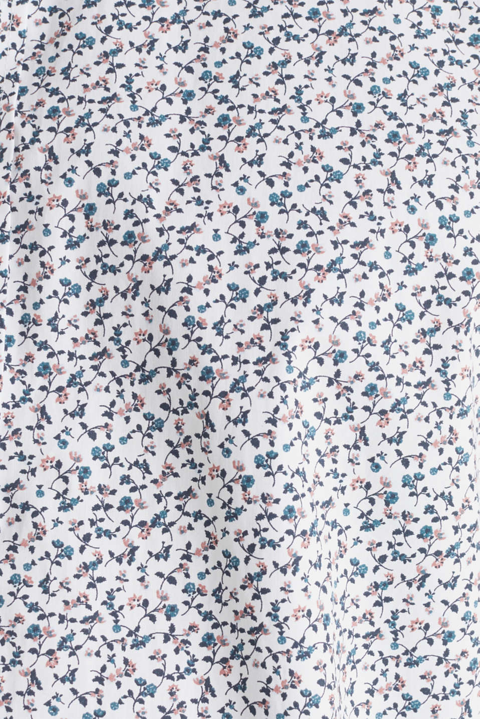 Floral shirt made of 100% cotton, WHITE 5, detail image number 4