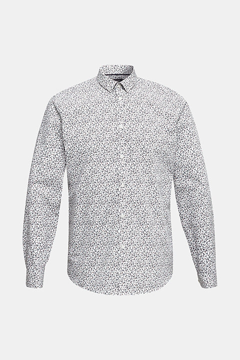 Floral shirt made of 100% cotton