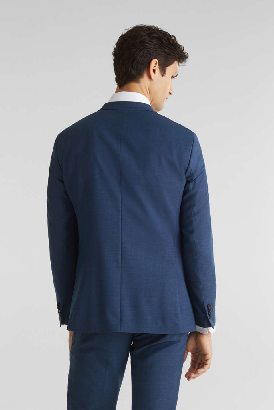 BLUE WOOL mix + match: sports jacket, BLUE 5, detail image number 3
