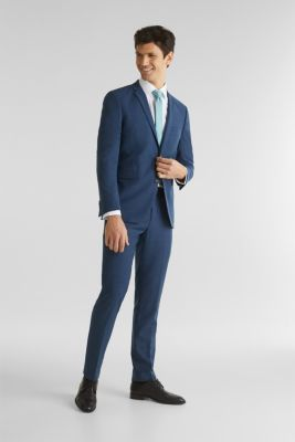 BLUE WOOL mix + match: sports jacket, BLUE 5, detail