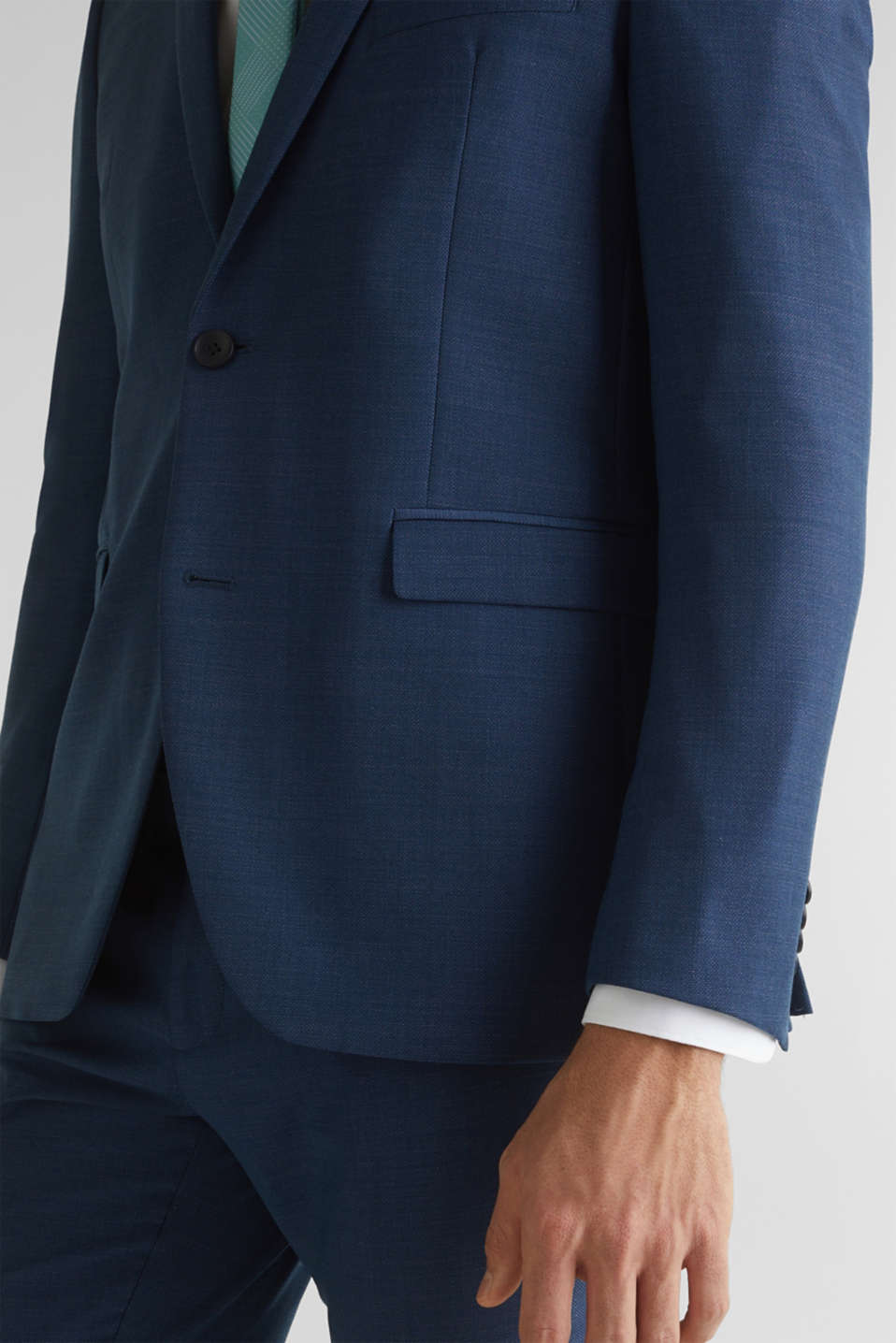 BLUE WOOL mix + match: sports jacket, BLUE 5, detail image number 2